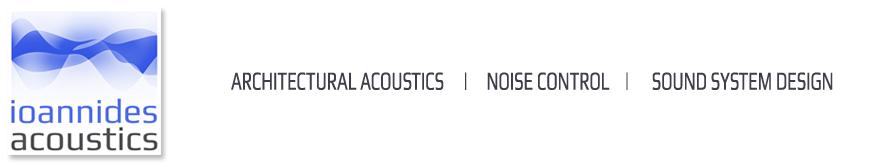 Ioannides Acoustics | Tel. 22 261715 | Cyprus Logo